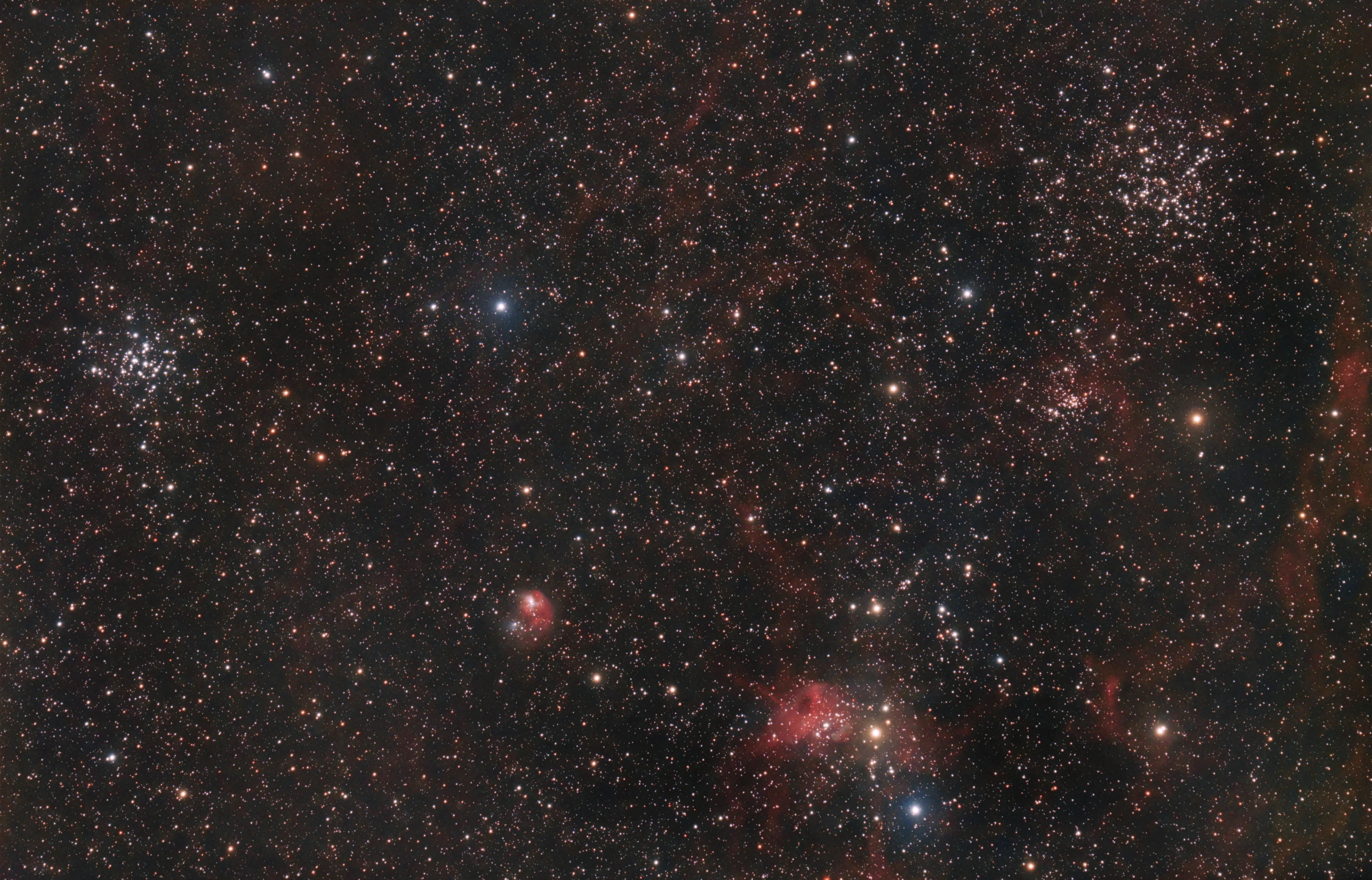 M36, M38, NGC1931