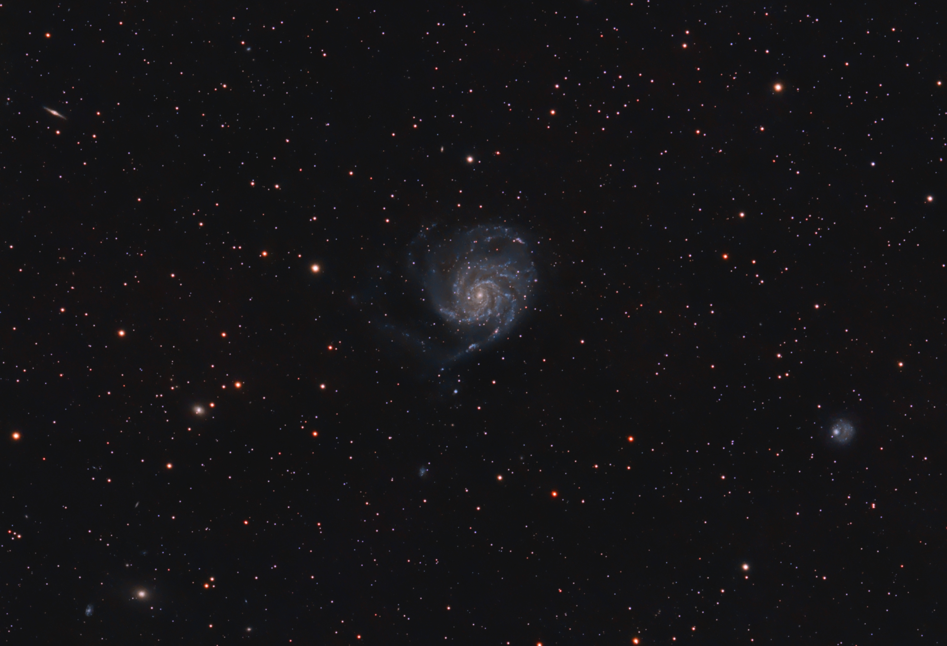 M101 and friends