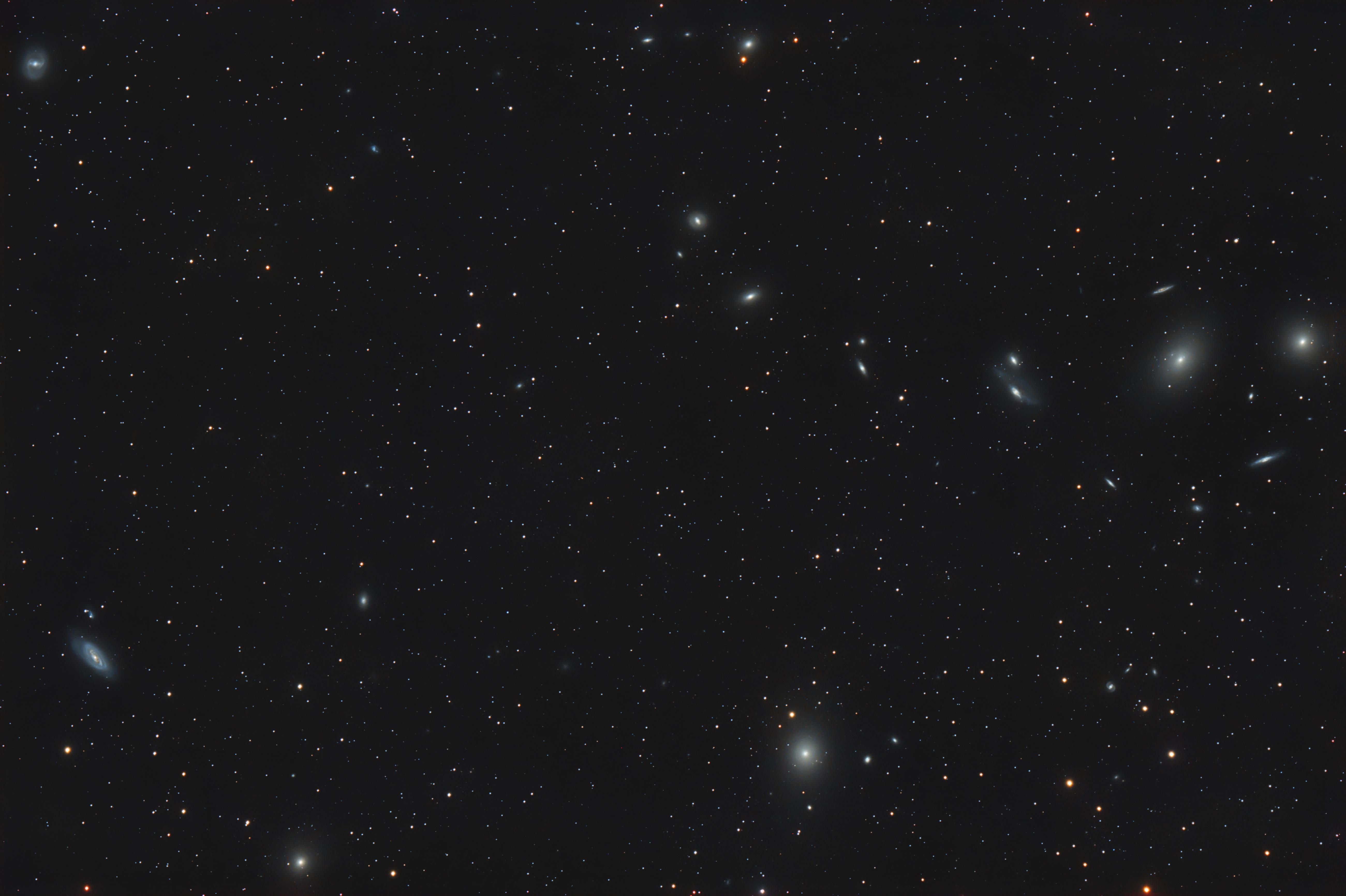 M84, M86, M87, M89, M90, M91, Markarian's Chain