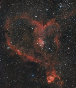 IC1805, Heart Nebula