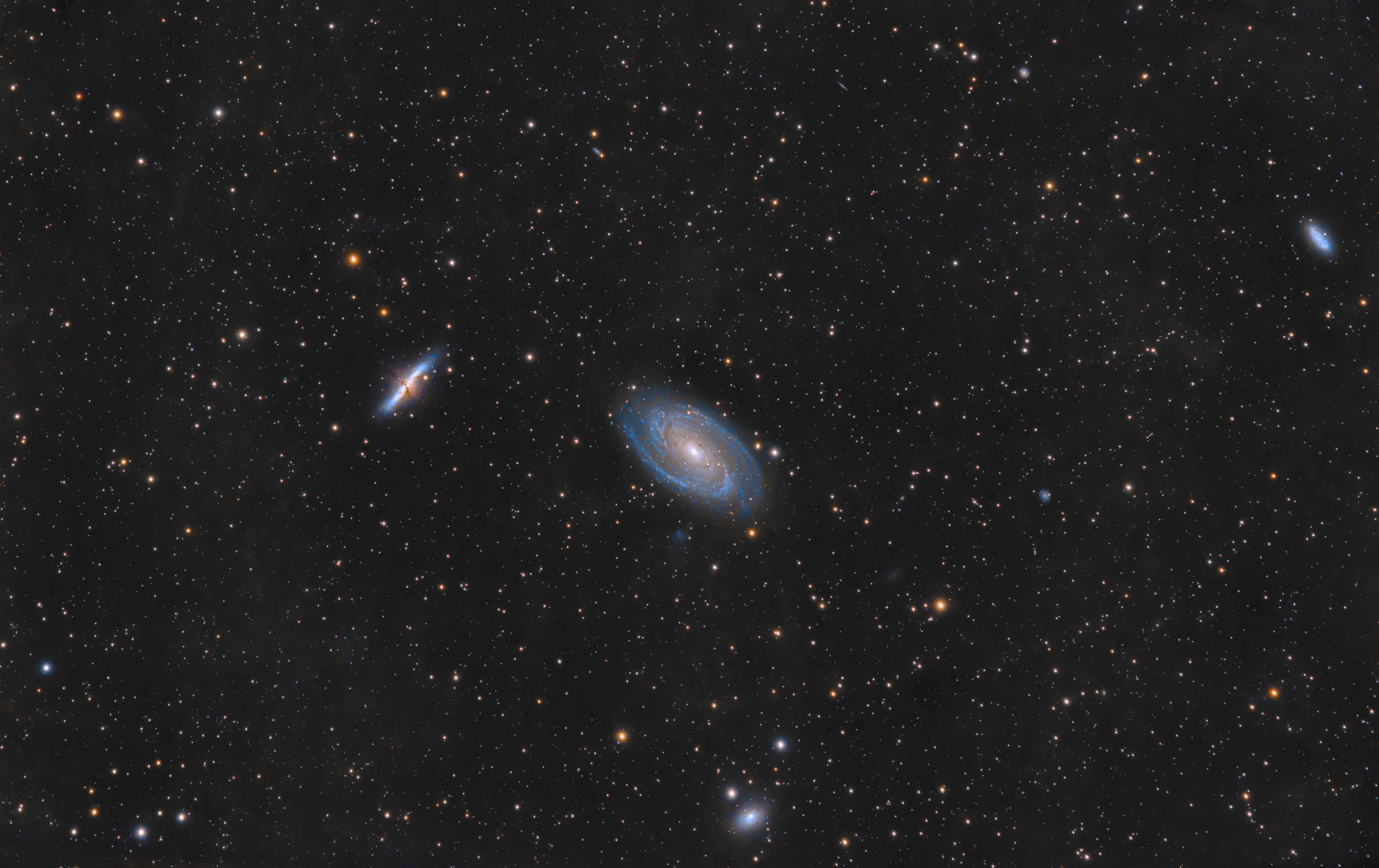 M81, M82 - 2016