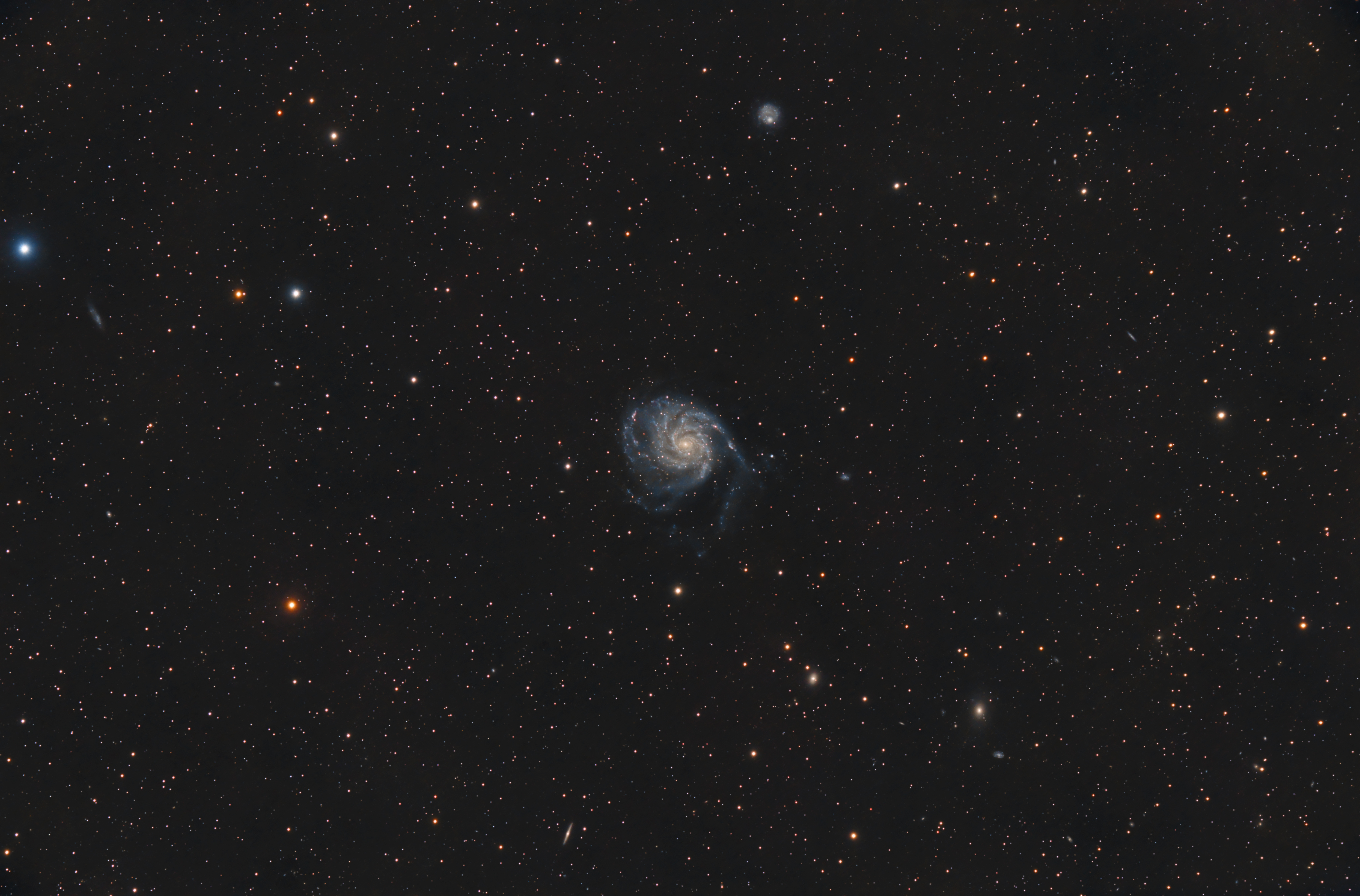 M101 and friends - 2016