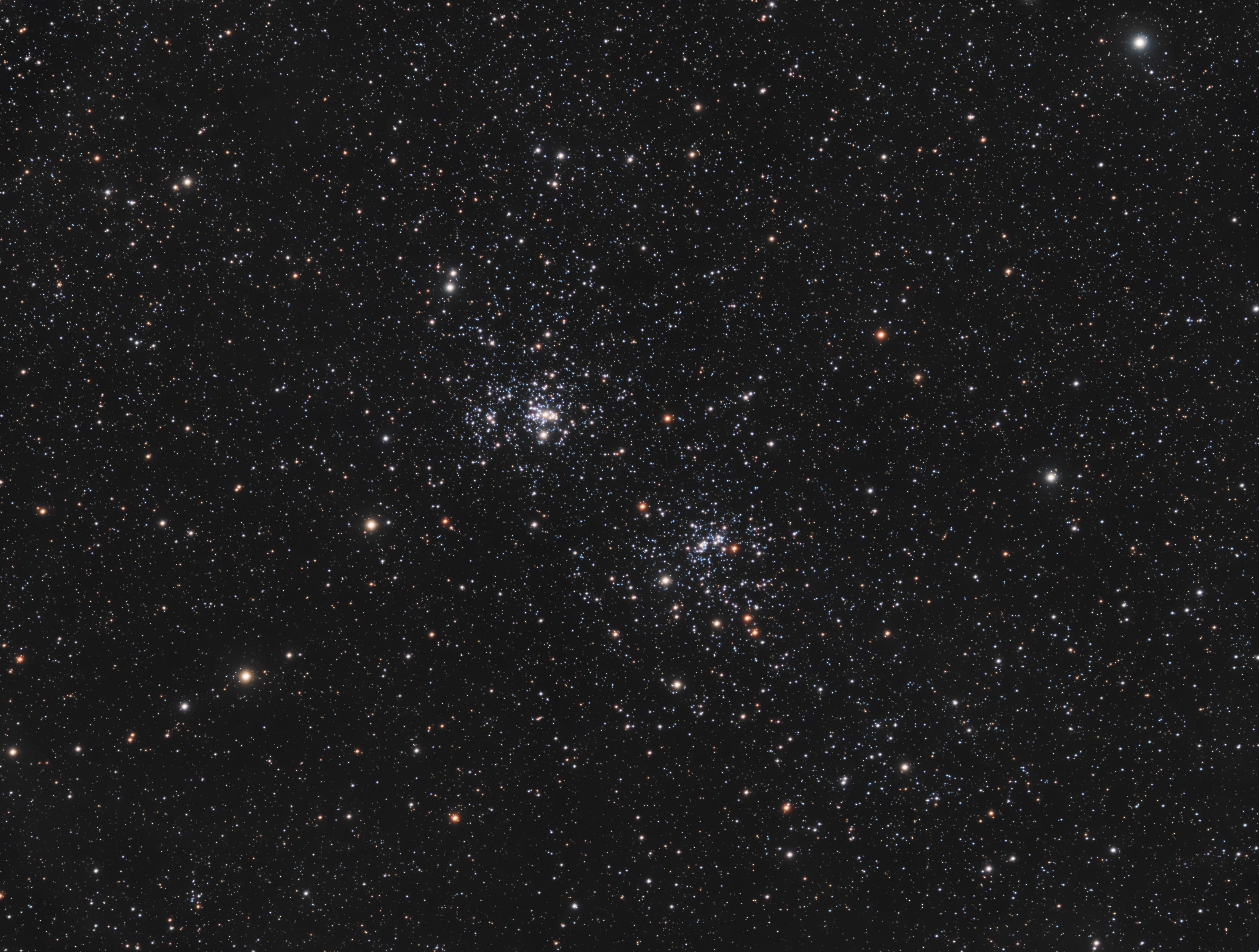 NGC869, NGC884 - Double Cluster