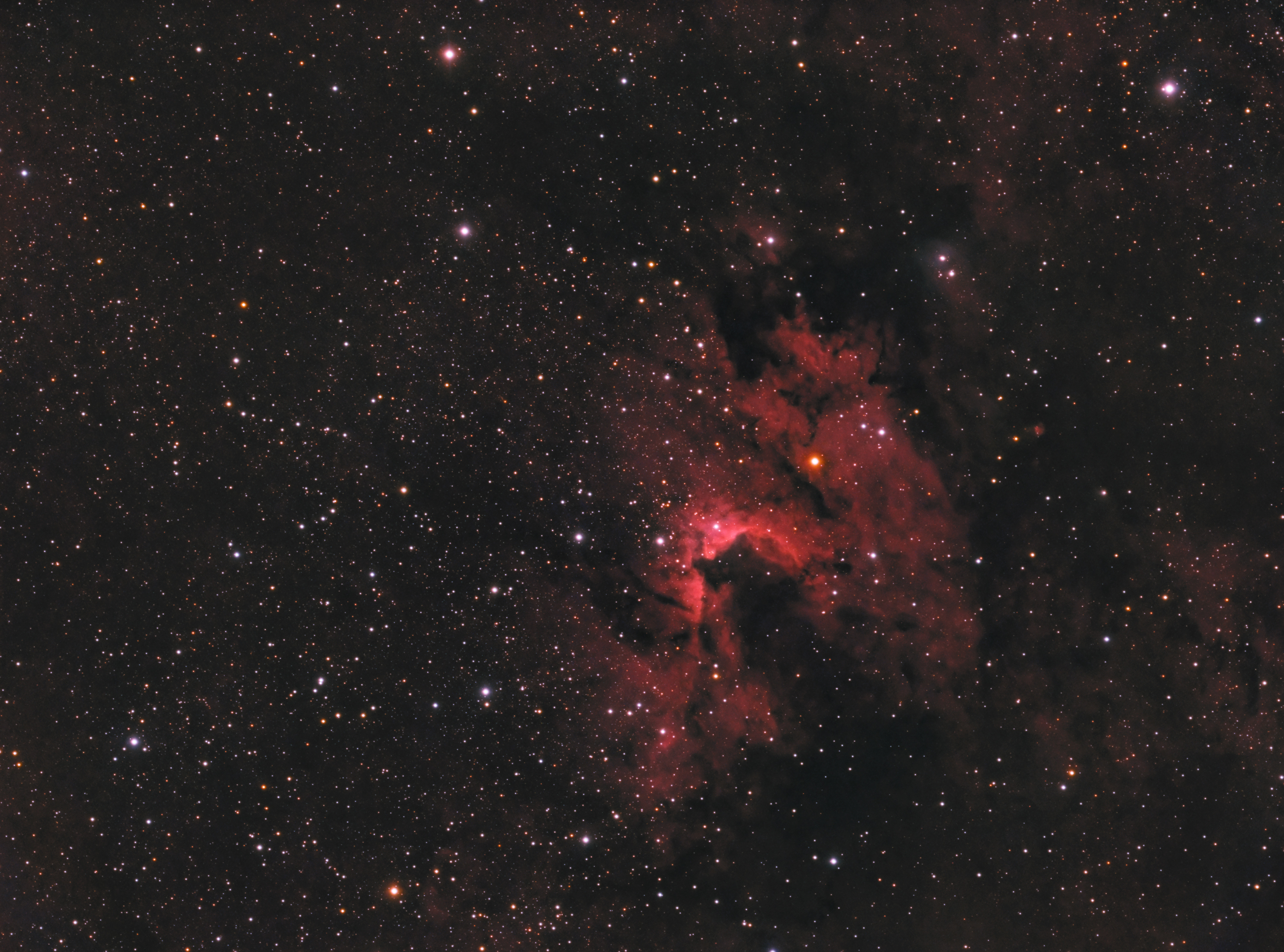 Sh 2-155 - Cave Nebula