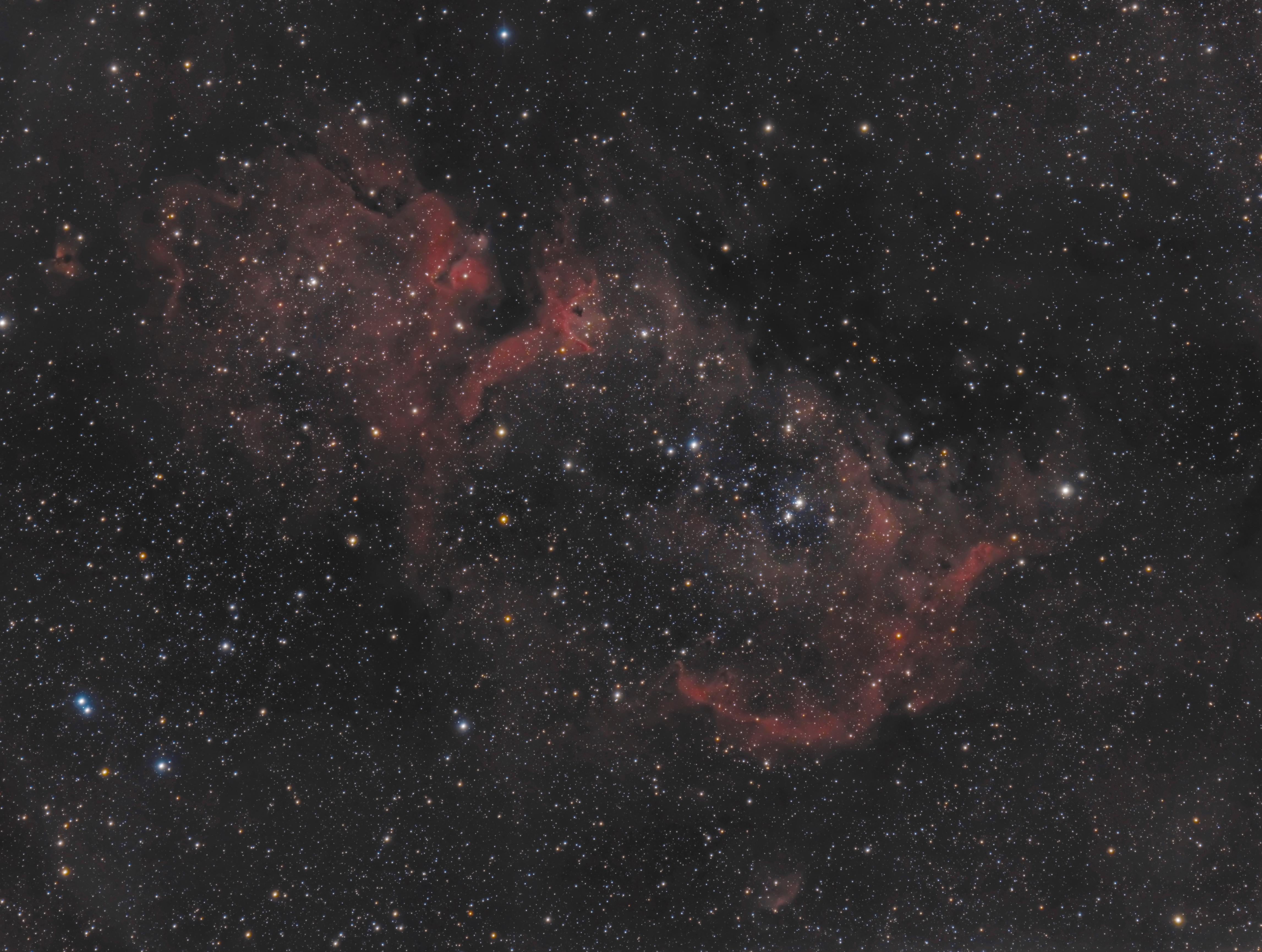 IC1848 Soul Nebula - 2016